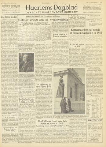 Haarlem's Dagblad 1954-10-07