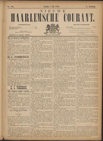 Nieuwe Haarlemsche Courant 1878-07-07
