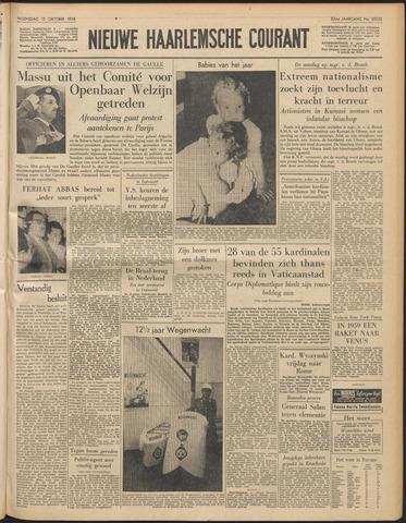 Nieuwe Haarlemsche Courant 1958-10-15