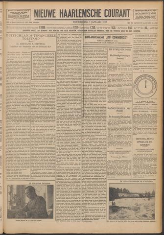 Nieuwe Haarlemsche Courant 1932-01-07