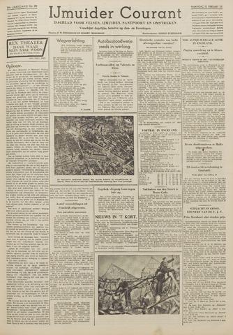 IJmuider Courant 1939-02-13