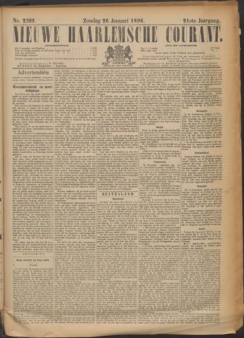 Nieuwe Haarlemsche Courant 1896-01-26