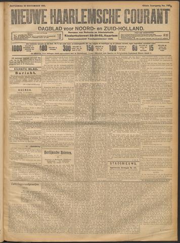 Nieuwe Haarlemsche Courant 1911-11-18