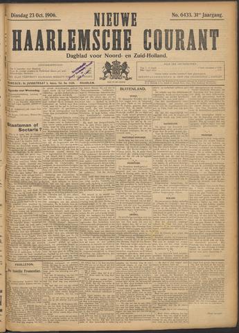 Nieuwe Haarlemsche Courant 1906-10-23