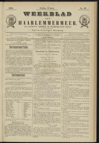 Weekblad van Haarlemmermeer 1884-06-06