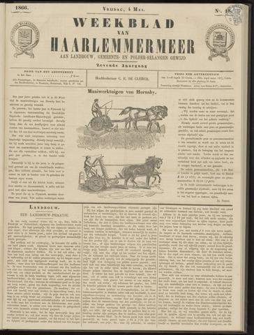 Weekblad van Haarlemmermeer 1866-05-04