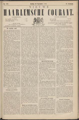 Nieuwe Haarlemsche Courant 1883-09-16