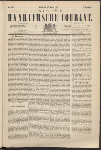 Nieuwe Haarlemsche Courant 1884-03-27