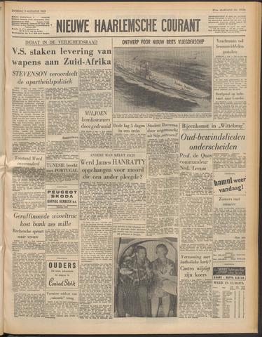 Nieuwe Haarlemsche Courant 1963-08-03