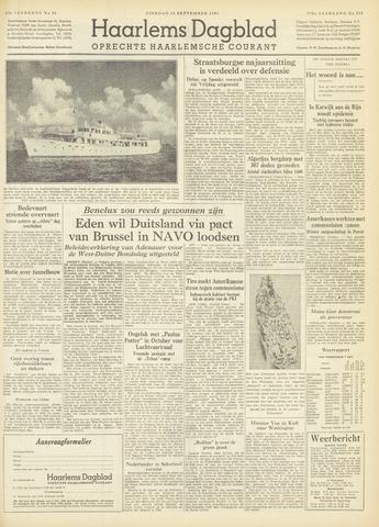 Haarlem's Dagblad 1954-09-14