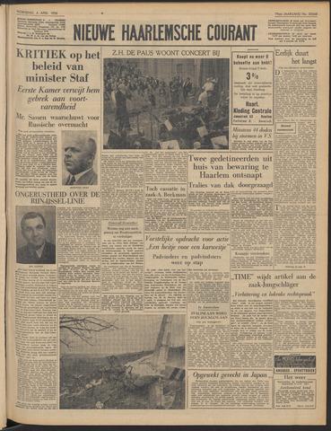 Nieuwe Haarlemsche Courant 1956-04-04