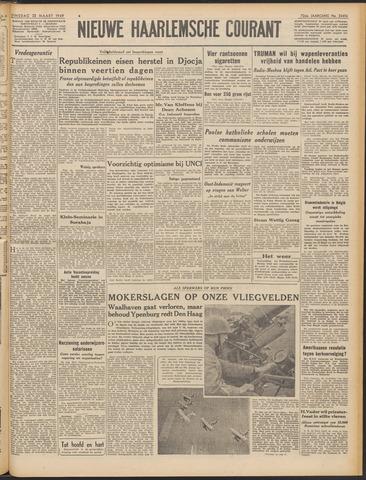 Nieuwe Haarlemsche Courant 1949-03-22