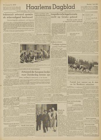 Haarlem's Dagblad 1947-07-07