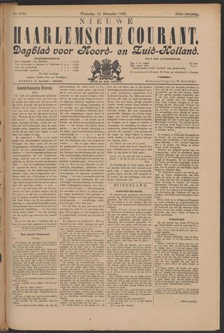 Nieuwe Haarlemsche Courant 1897-12-22