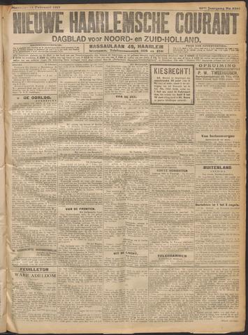 Nieuwe Haarlemsche Courant 1917-02-12