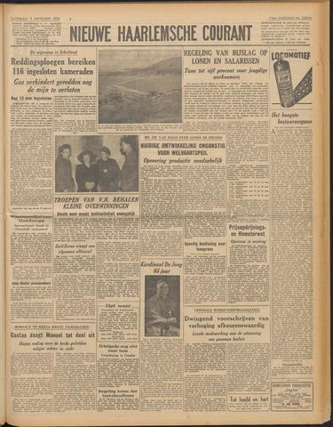 Nieuwe Haarlemsche Courant 1950-09-09
