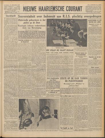 Nieuwe Haarlemsche Courant 1949-12-27