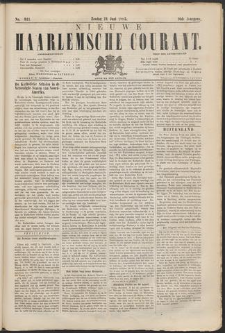 Nieuwe Haarlemsche Courant 1885-06-21
