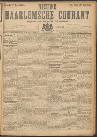 Nieuwe Haarlemsche Courant 1907-03-27