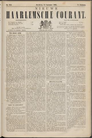 Nieuwe Haarlemsche Courant 1882-09-14