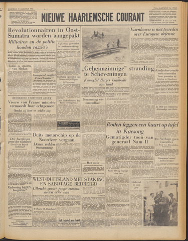 Nieuwe Haarlemsche Courant 1951-08-13