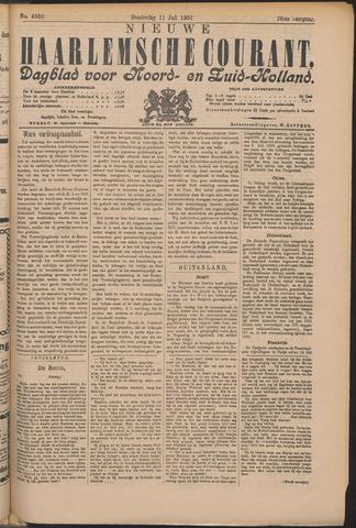 Nieuwe Haarlemsche Courant 1901-07-11