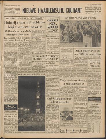 Nieuwe Haarlemsche Courant 1960-08-25