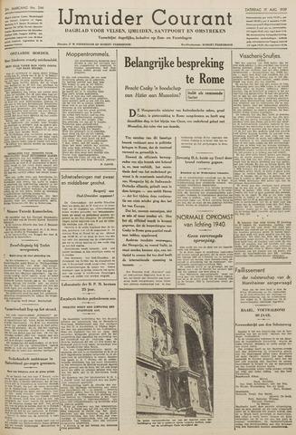 IJmuider Courant 1939-08-19