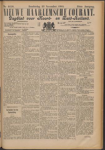 Nieuwe Haarlemsche Courant 1905-11-23