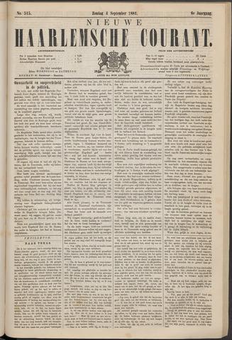 Nieuwe Haarlemsche Courant 1881-09-04