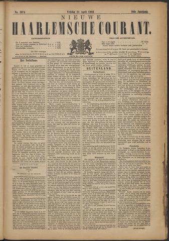 Nieuwe Haarlemsche Courant 1893-04-21