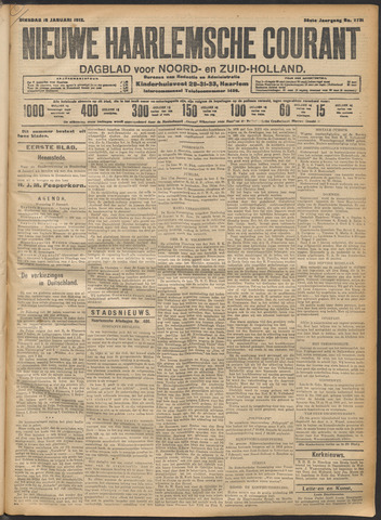 Nieuwe Haarlemsche Courant 1912-01-16