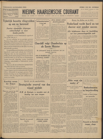 Nieuwe Haarlemsche Courant 1940-05-11