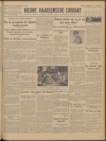 Nieuwe Haarlemsche Courant 1940-02-18