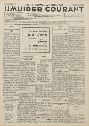 IJmuider Courant 1938-01-20