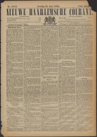 Nieuwe Haarlemsche Courant 1894-06-24