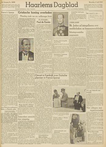 Haarlem's Dagblad 1947-04-02