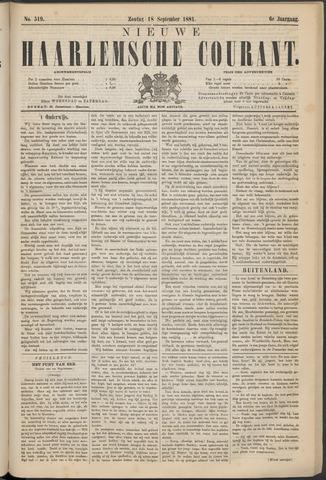 Nieuwe Haarlemsche Courant 1881-09-18