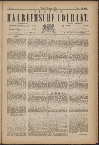 Nieuwe Haarlemsche Courant 1887-10-07