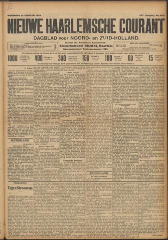 Nieuwe Haarlemsche Courant 1909-02-24