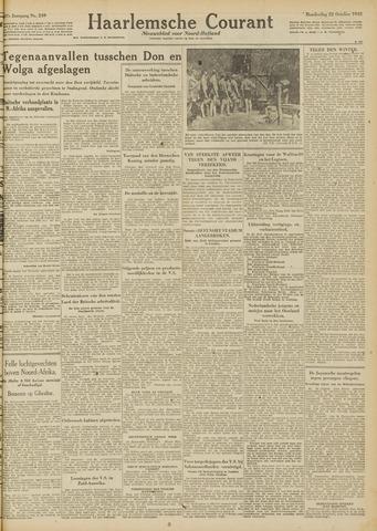 Haarlemsche Courant 1942-10-22