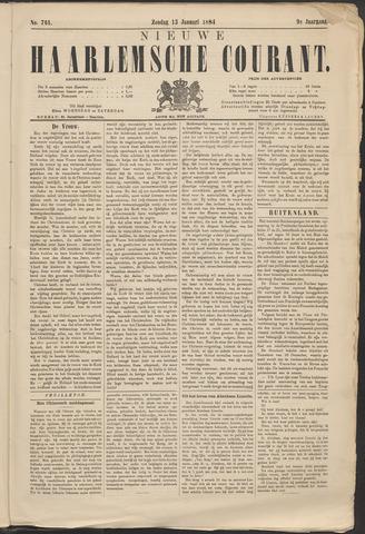Nieuwe Haarlemsche Courant 1884-01-13