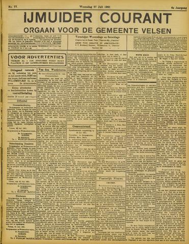 IJmuider Courant 1921-07-27