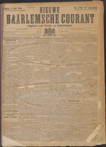 Nieuwe Haarlemsche Courant 1906-07-13
