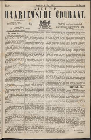 Nieuwe Haarlemsche Courant 1881-03-10