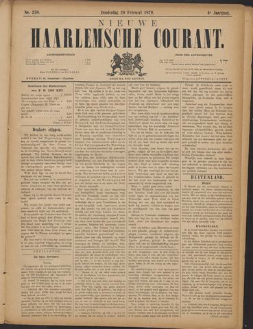 Nieuwe Haarlemsche Courant 1879-02-20