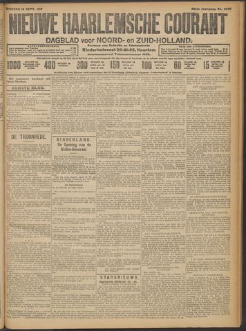Nieuwe Haarlemsche Courant 1913-09-16