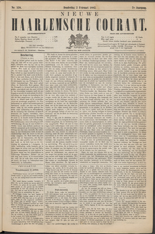 Nieuwe Haarlemsche Courant 1882-02-02