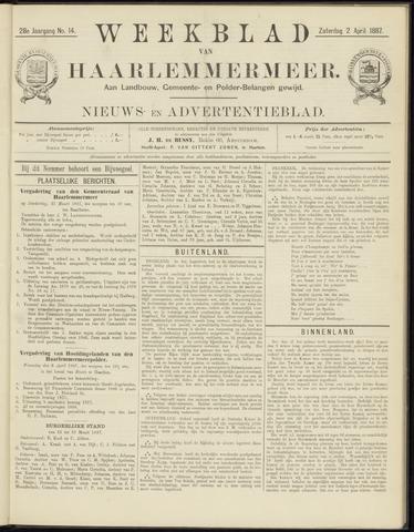 Weekblad van Haarlemmermeer 1887-04-02