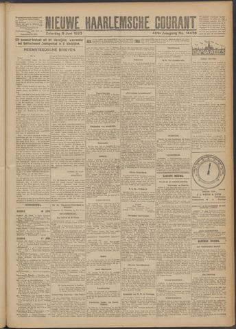Nieuwe Haarlemsche Courant 1923-06-09